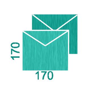 Дизайнерские конверты 170*170