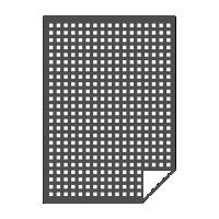 Перфорированная сетка 540 dpi